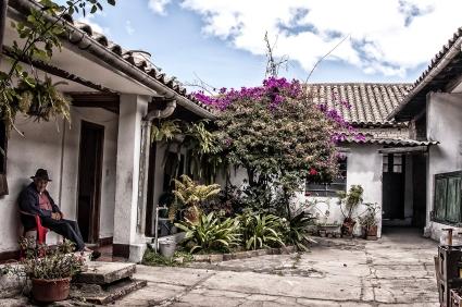 Paisano Courtyard